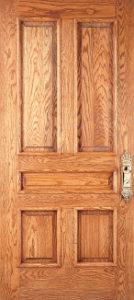 Raised wood panels